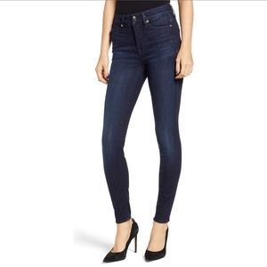 "Good American ""Good Legs"" high rise skinny jeans"